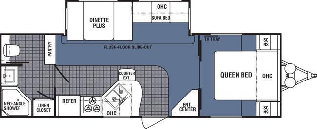 dutchmen denali 26fb rvs for sale. Black Bedroom Furniture Sets. Home Design Ideas