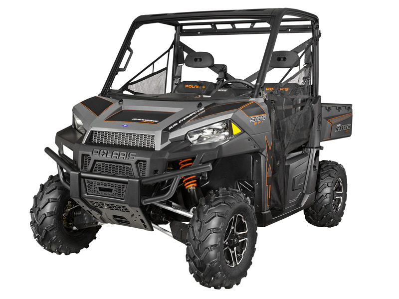 2014 Polaris Ranger XP 900 EPS Titanium Matte Metallic LE