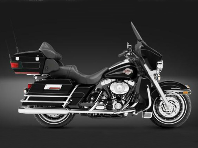 Harley Davidson Ultra With Low Rpms