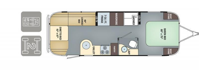 2017 Airstream International Signature 27FB QUEEN
