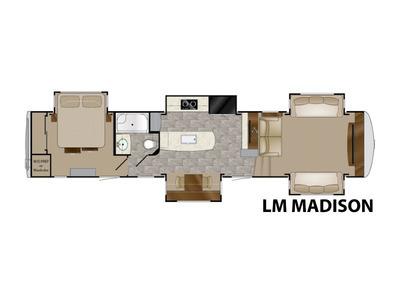 2017 Heartland Landmark 365 LM MADISON