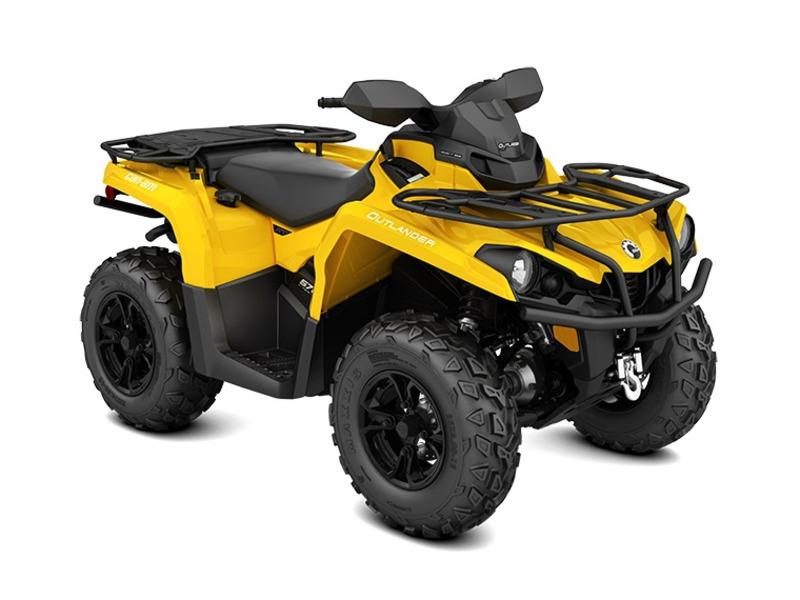 2017 Can-Am Outlander XT 570 Yellow