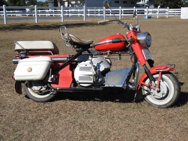 1964 Cushman Silver Super Eagle