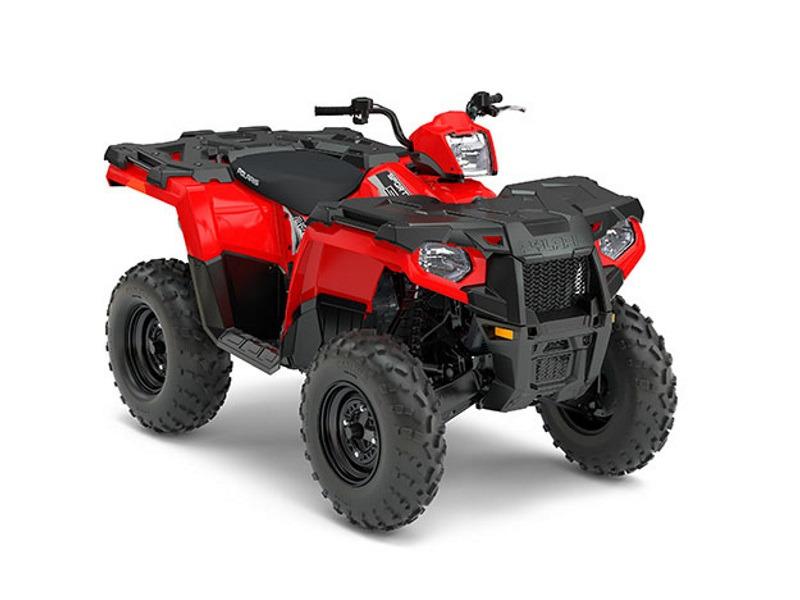 2017 Polaris Sportsman 570 Indy Red