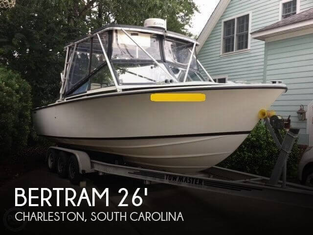 1976 Bertram 26 Moppie SF Convertible