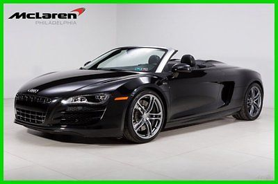 Audi : R8 5.2 2011 5.2 used 5.2 l v 10 40 v manual quattro convertible premium