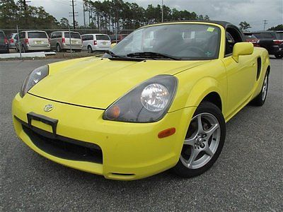 Toyota : MR2 2dr Conv Manual 2000 convertible used gas i 4 1.8 l 110 5 speed manual w od rwd leather yellow
