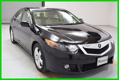 Acura : TSX 2.4 FWD 2.4L 4 Cyl Sedan NAV Sunroof Leather int FINANCING AVAILABLE!! 105K Miles Used 2010 Acura TSX 4 Doors Bluetooth 17