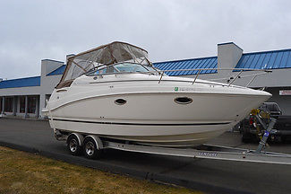 2008 RINKER 260 CRUISER, 29FT LOA, 115HRS MERCRUISER 5.0L MPI 260HP, W/ TRAILER