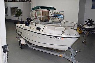 2005 TROPHY 1802 WA,18FT, MERCURY 125HP 230HRS, GPS VHF, FULL TOP, W/ TRAILER