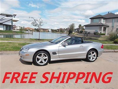 Mercedes-Benz : SL-Class SL500 2dr Roadster 5.0L FREE SHIPPING SPORT PREMIUM FREE FHIPPING MORE DETAILS TOMORROW