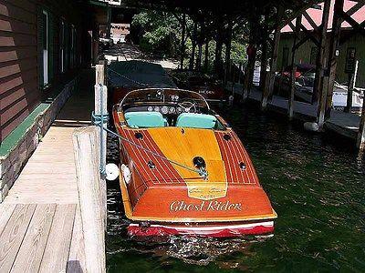 1956 Chris Craft Capri Wooden Runabout, Restored Classic Boat