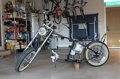 Custom Built Motorcycles : Chopper 1975 harley davidson fx rare hardtail custom rolling chopper chasis