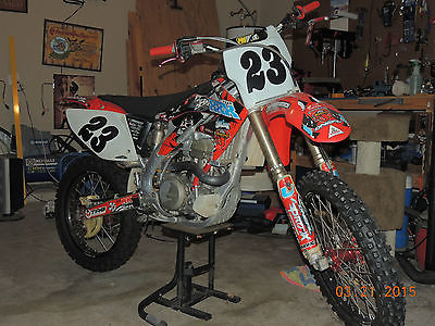Honda : CRF 2007 honda crf 450 r motocross dirtbike yoshimura exhaust excellent condition
