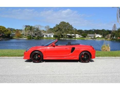 Toyota : MR2 Base 2dr Con MR2 SPYDER CONVERTIBLE 1.8L 4 CYLINDER 5 SPEED MANUAL 2-OWNER 57,556 MILES