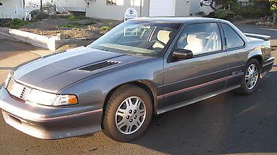 Chevrolet : Lumina Z34 Coupe 2-Door 1993 chevrolet lumina z 34 coupe 2 door with low original miles