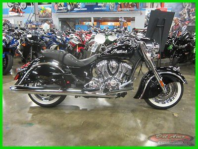 Indian : Chief 2014 indian chief classic thunder black used