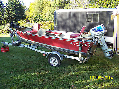 1984 14' Lund Mr Pike - Boat, Motor and Trailer