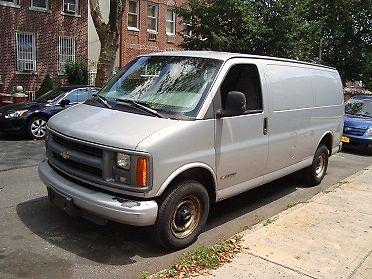 Chevrolet : Express Base Extended Cargo Van 3-Door 1997 chevrolet express 2500 base extended cargo van 3 door 5.7 l