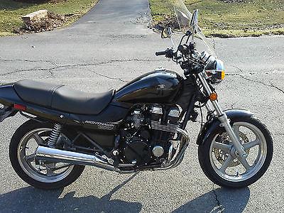 Honda : Nighthawk 1997 black honda nighthawk cb 750 low miles clear title