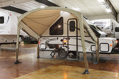 New 2015 T12RBST A Frame Hard Side Lite Fold Down Pop Up Travel Trailer RV