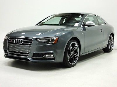 Audi : S5 Premium Plus PREST NAV REAR CAM SUNROOF XENON LED BLUETOOTH XM KEYLESS BLIND SPOT HTD LEATHER