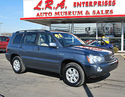 Toyota : Highlander LIMITED TOYOTA HIGHLANDER LIMITED CLEAN CARFAX 1 OWNER RUNS & DRIVES PERFECT BUY IT NOW