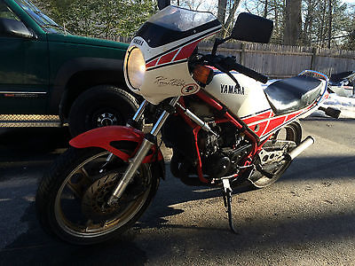Yamaha : Other 1985 yamaha rz 350 rz 350 rd 350 lc kenny bell red white 350 cc 2 stroke street bike