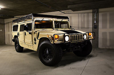 Hummer : H1 H1 1992 hummer h 1 limited edition 1 of only 316 made
