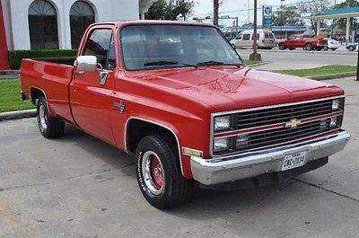 Chevrolet : C/K Pickup 1500 1984 chevrolet pickup c 10 stepside 117.5