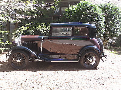 Ford : Model A Ford 1931 victoria complete nut and bolt restoration to judging standards