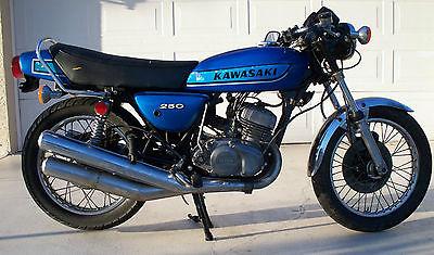 Kawasaki S1 250 Triple Motorcycles for sale