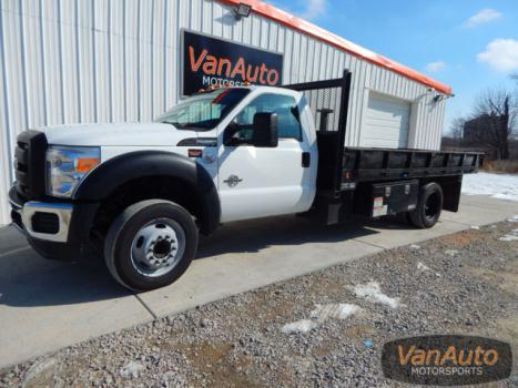 Ford : Other Pickups 2WD Reg Cab 6.7 l turbo diesel power stroke 4 x 2 2 dr 14 metal tread plate flatbed