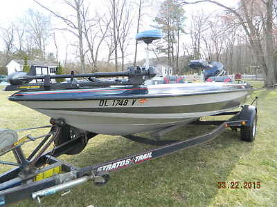 Stratos 264 Bass Boat   MUST SEE