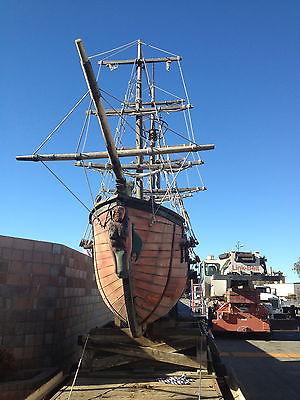 Pirate Ship  (Twenty Foot Long Model)   unrestored