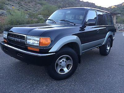 Toyota : Land Cruiser Base Sport Utility 4-Door 1991 toyota land cruiser 4 wd rust free az car