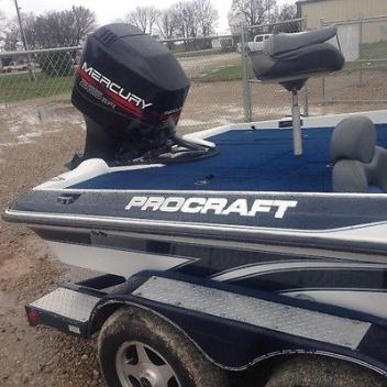 1998 Pro Craft 205 Pro with Mercury 225 EFI outboard