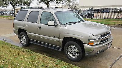 Chevrolet : Tahoe LT 2001 chevrolet tahoe lt sport utility 4 door 5.7 l 4 x 4 auto 178 900 miles