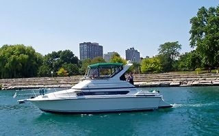 1994 Carver Santego 380 Two Owner Boat ONLY 400 hours 41' LOA Slip Incl No Res!!