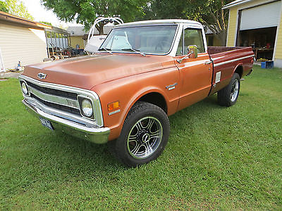 Chevrolet : Other Pickups Custom Camper K20 1970 chevrolet 4 x 4 k 20