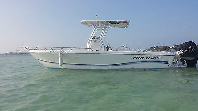 2006 Proline 25 sport w 275 Mercury Verado 4 stroke 385 hrs great condition!
