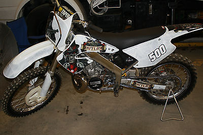 Honda : CR 2001 honda cr 500 cr 500 af cr 125 r cr 250 r cr 500 r coversion cr 125 frame
