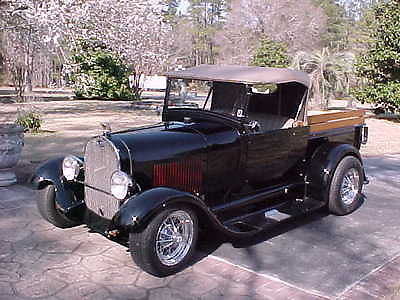 Ford : Other Pickups CHROME 1929 ford roadster pickup