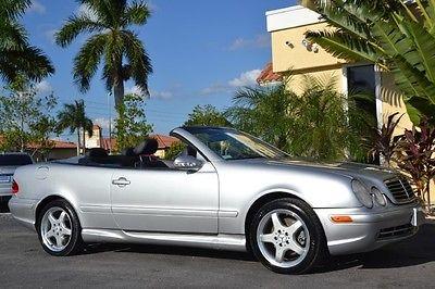 Mercedes-Benz : CLK-Class Convertible 2002 mercedes clk 430 convertible v 8 63 k navigation backup camera ipod leather