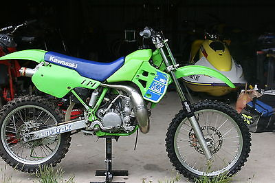 Kawasaki : KX Vintage,race ready 1989 Kawasaki KX 250,title,shop manual,extras, located in NJ