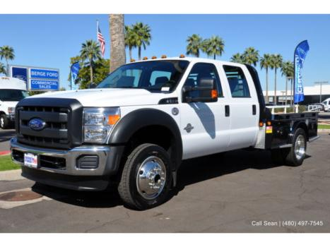 Ford : Other Pickups Cab Chassis 2015 f 550 4 wd crew cab xl power equipment 9 montana gooseneck platform hauler