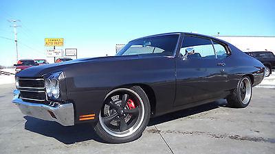 Chevrolet : Chevelle 2dr. 1970 chevy chevelle pro touring resto mod bad to the bone l k