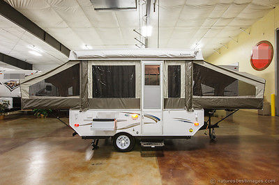 New 2015 206LTD Light Weight Fold Down Pop Up Travel Trailer Popup Never Used