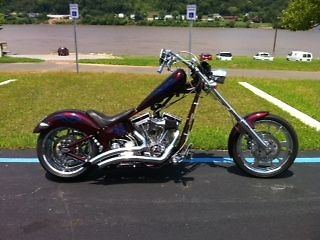 Custom Built Motorcycles : Chopper 2004 vengeance warrior custom chopper