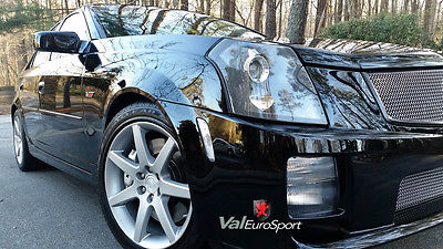 Cadillac : CTS CTS-V SUPERB 05 CADILLAC CTS-V LS6 400hp 6sp CORSA EXHAUST REAR DVDs ALL RECORDS WOW!